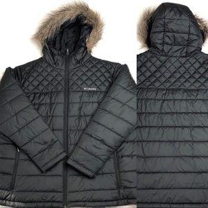 Columbia Women's Detachable Faux Fur Trim Jacket
